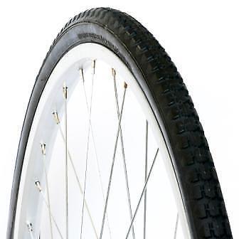 "DURO 28 x 1 1//2 Bicycle Bike Tyre 28/"" Black Retro Vintage 4751 2X Pair"