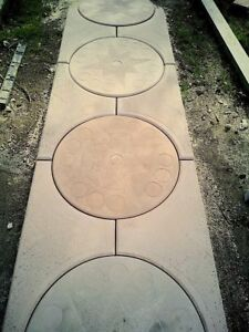 2-Stampi-cemento-matrice-Forma-pavimento-viale-giardino-fai-da-te