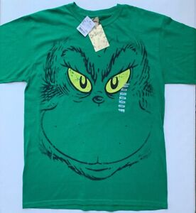 Dr-Seuss-The-Grinch-Size-Men-s-Large-L-T-Shirt-by-Hybrid-Apparel-NEW-NWT-RARE