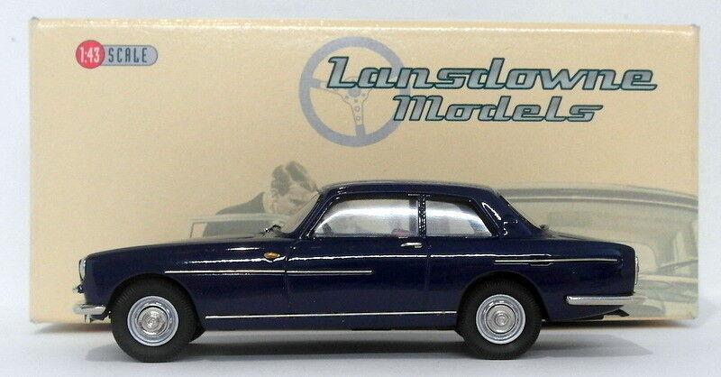 Lansdowne models échelle 1 43 LDM80 - 1972 bristol 411 série ii-bleu foncé