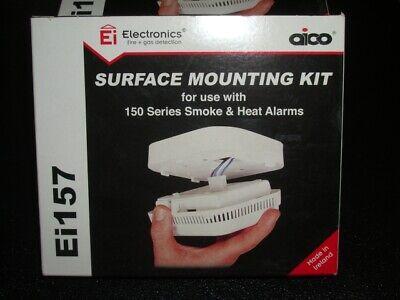 2-aico Ei157 Kit Di Montaggio Superficiale Per Serie 150 Allarmi Fumo & Calore Confezione Da 2- Sapore Fragrante (In)