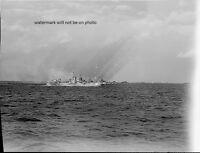 Battleships Sending Rockets Okinawa 8x 10 World War Ii Photo Picture 49