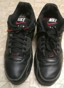 Details about Nike Air Max Running Shoes 316391 901 Men's Size 13 Black