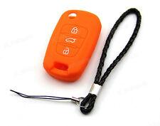 Orange Silicone Case Cover For Kia Flip Key K2 K5 Soul Sportage Sorento Pro ceed