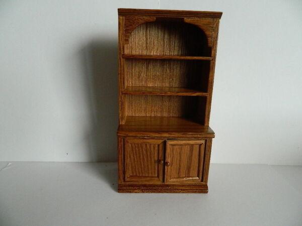 (hp1.15) échelle 1/12th Maison De Poupées En Bois Chêne Couleur Cabinet Sang Nourrissant Et Esprit RéGulateur