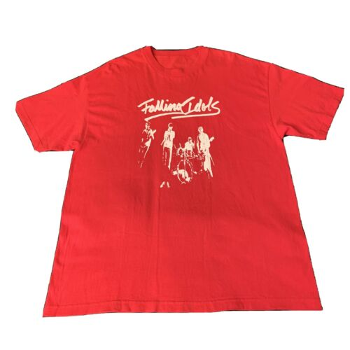 Vintage Falling Idols Punk Band T-Shirt 80s Tee Su