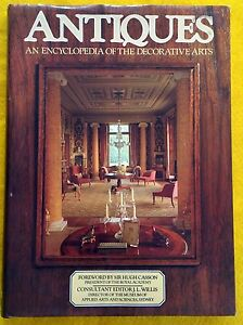 Antiques-An-Encyclopedia-of-the-Decorative-Arts-FREE-AUS-POST-used-hardcover