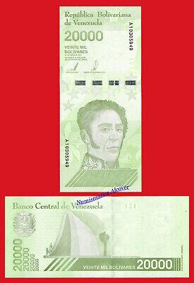 VENEZUELA 20000 Bolivares soberanos 2019 Pick NEW UNC