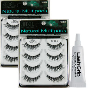 d43b21329a3 Image is loading 8-Pairs-Ardell-DEMI-WISPIES-MULTIPACK-False-Eyelashes-
