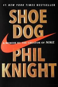 Cane-Scarpa-una-biografia-dal-creatore-di-Nike-Phil-Knight-copertina-rigida-2016-Nuovo-di-Zecca