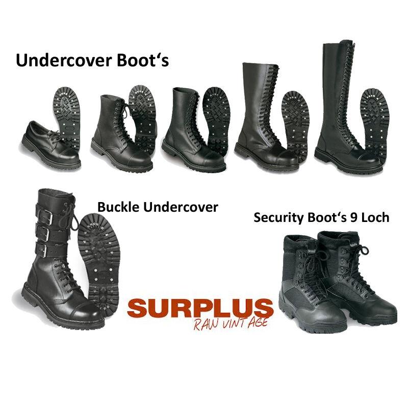 Surplus Undercover Stiefel Stiefel Punk Neu Schuhe Skin Springerstiefel Stahlkappe Neu Punk 09b354
