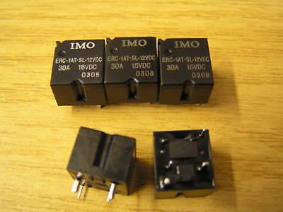 IMO ERC-1AT-SL-12VDC Coil Relay 30A 16VDC Single Pole ST 5 pieces I74 OLA1-24