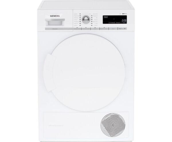 Siemens wt44w5w0 8kg a wärmepumpentrockner weiß ebay