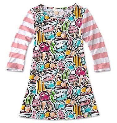 Girls SUNSHINE SWING cupcake dress 4 5 6 7 8 10 NWT candy party birthday dots