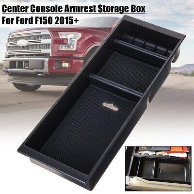 2015-2017 For Ford F150 Car Center Console Armrest Storage Box Organizer Tray