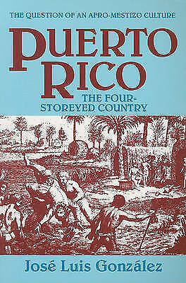 Puerto Rico : The Four Storeyed Country and Other Essays, Paperback by Gonzal...