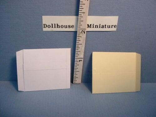 White /& Cream #4239,4240 Dollhouse Miniature Envelope Only E-Ray Film 2