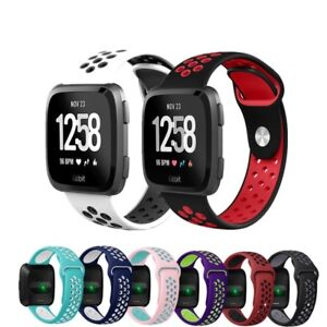 For-Fitbit-Versa-Replacement-Silicone-Sports-Band-Strap