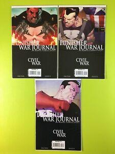 PUNISHER-WAR-JOURNAL-CIVIL-WAR-1-2-3-Fraction-Olivetti-Marvel-NM-9-4
