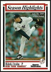 HIDEKI-IRABU-1997-FLEER-Sports-Illustrated-SEASON-HIGHLIGHTS-31