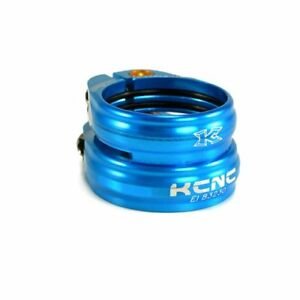 KCNC SC13 Twin Seat Post Clamp Seat Tube:34.9mm//Seat Post:31.6mm Blue