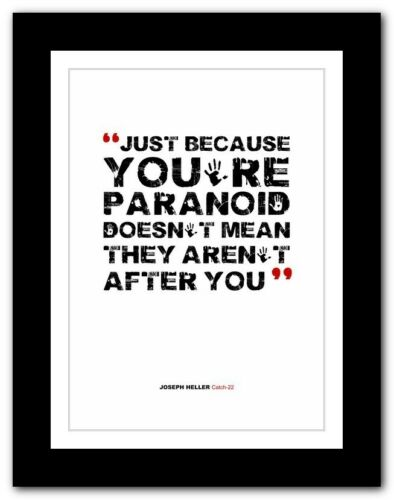 JOSEPH HELLER Catch-22 ❤ typography book quote poster print inspirational #171