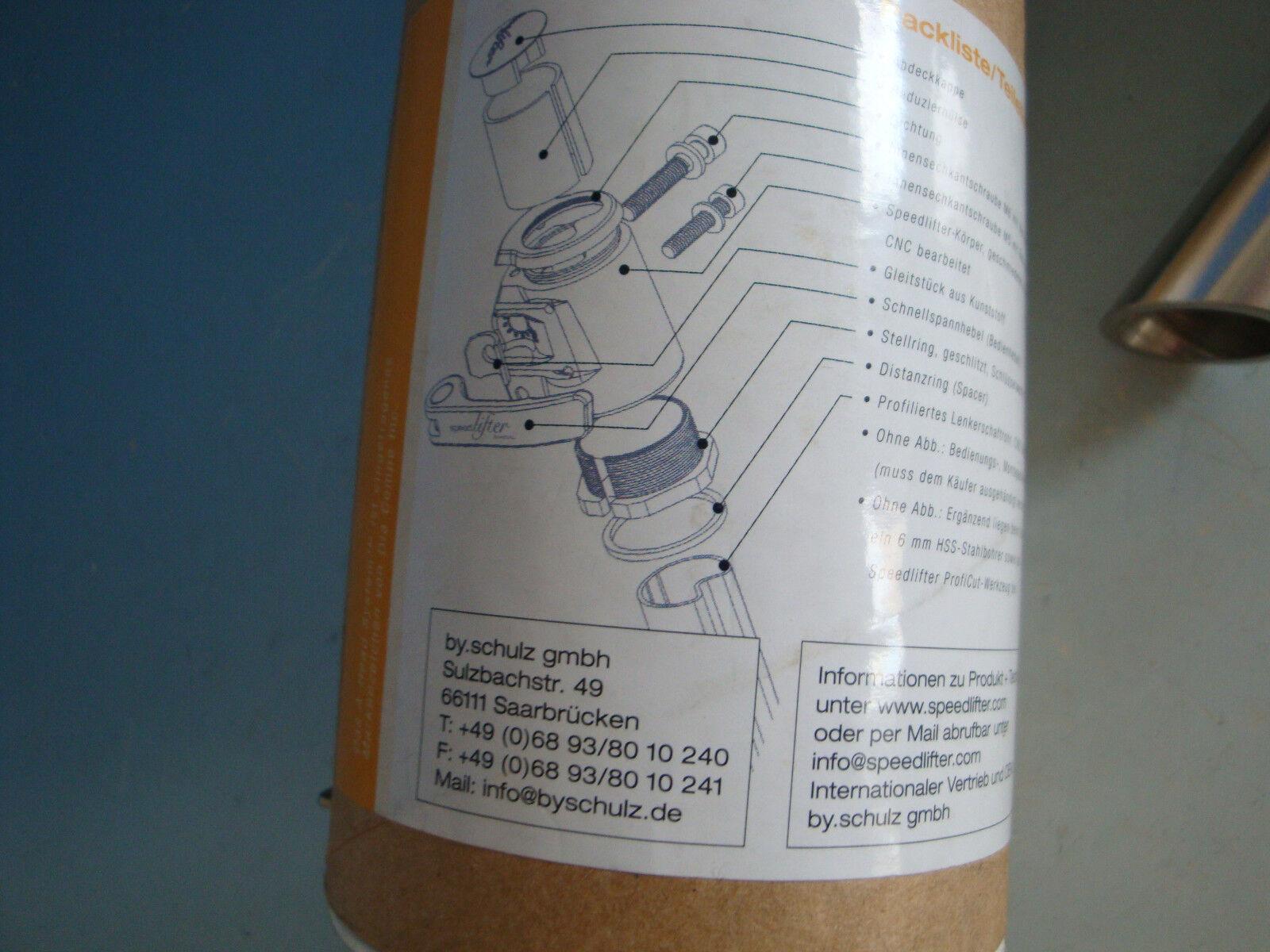 A018-375  speedlifter Profi cut herramienta herramienta herramienta single Boxed horquilla caña Caña t100 5a6d80