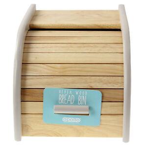 Retro-legno-mini-rotolo-superiore-Pagnotta-Pane-Cestino-da-cucina-contenitore-per-cibo-Storage-Box