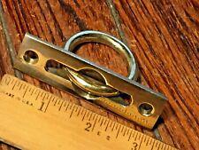 BRONZE 6117-10 NOS VINTAGE SAFE PADLOCK /& HARDWARE FLUSH RING PULL CAST BRASS