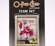 NHL Detroit Red Wings 2012_13 Upper Deck O-Pee-Chee Team Card Set 19 Cards