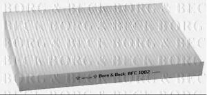 Borg-amp-Beck-Cabin-Pollenfilter-fuer-VW-Limousine-Passat-1-8-110KW