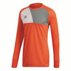 Details about Adidas Football Soccer Kids Long Sleeve Goalkeeper GK Goalie Jersey Shirt Top