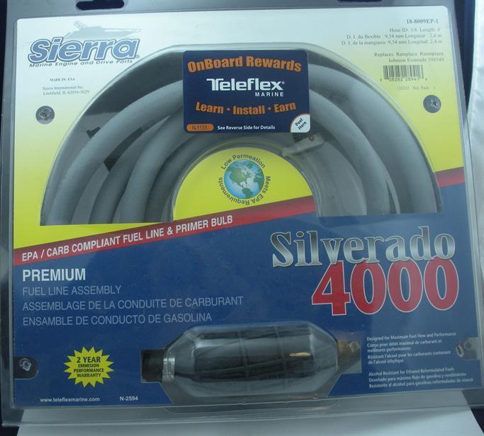 Sierra 18-8009ep-1 8 ft ft ft Kraftstoffleitung Omc 3 8   Epa Zertifiziert 4566 371922