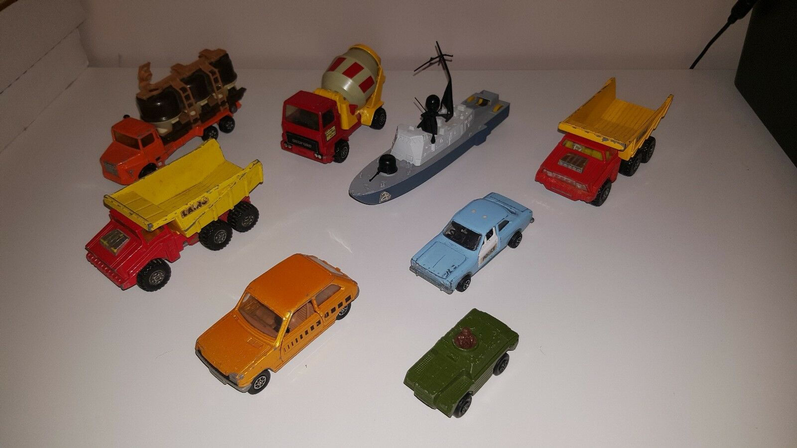 Collection Of Vintage Matchbox, Corgi And Dinky Toys (1970s)