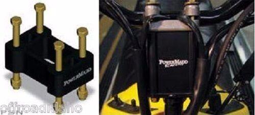 "2/"" POWERMADD BAR RISER BLOCK FOR POLARIS SNOWMOBILE MODELS 90-16 WITH FLAT POST"