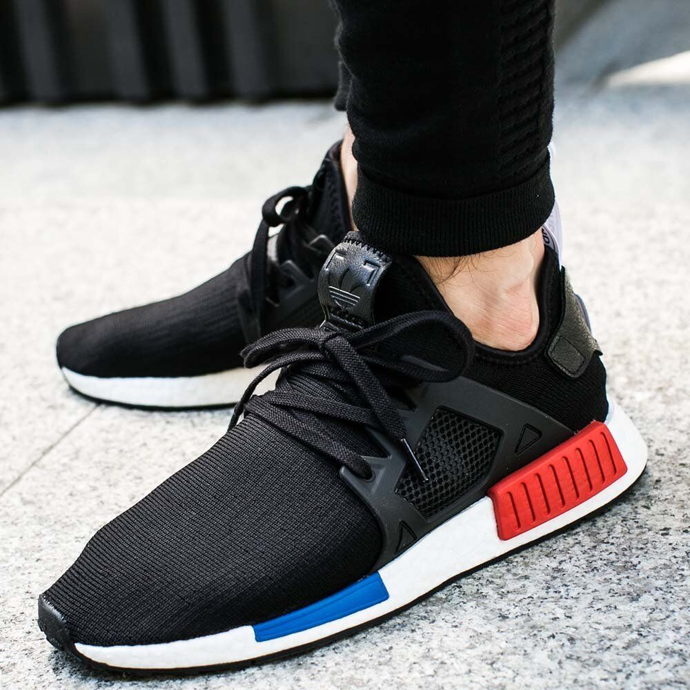 Adidas NMD XR1 PK OG Core Black Blue Red Size 13. BY1909 Ultra Boost Yeezy