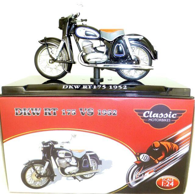 DKW RT175 1952 Moto Classique Atlas 4658120 1:24 HQ3 µ