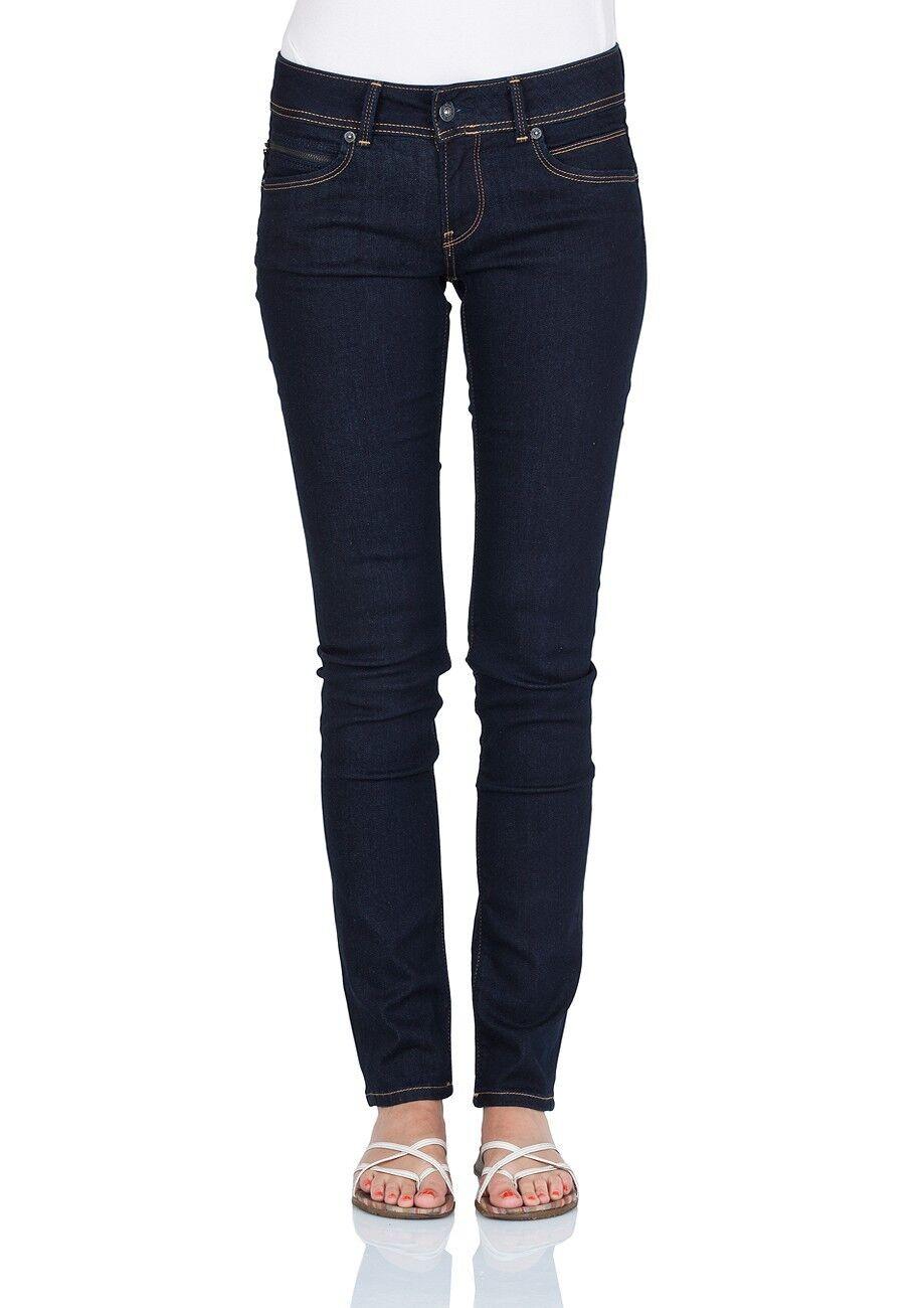 Pepe Jeans Damen Jeans PL200019M15 New Brooke Slim Fit rinse plus