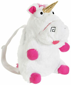 Fluffy-Unicorn-Backpack-Girls-Despicable-Me-3-Plush-Bag