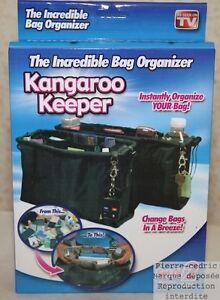Lot-de-2-Organisateur-de-Sac-a-Main-Kangaroo-Keeper-Vu-a-la-Tele