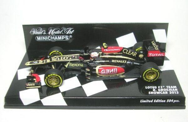 Lotus F1 Team No.8 Romain Grosjean Formal 1 Showcar 2013