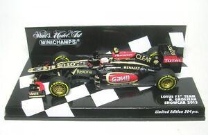 Lotus-F1-Equipo-N-8-Romain-Grosjean-Formal-1-Coche-A-Escala-2013