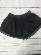 NWT Crop Pants Black with Gray stitching faux drawstring great dancer coverup