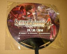 Samurai Warriors 4 & Warriors Orochi 3 Ultimate Fan from Gamescom 2014 Very Rare