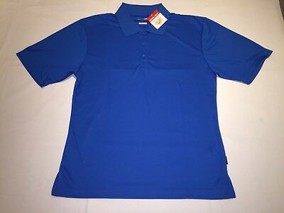 New Mens Gamegear K972 Cooltex Champion polo shirt Bright Blue XXL K19.
