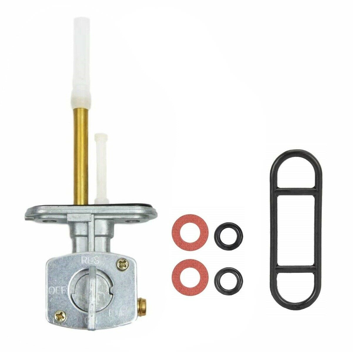 7051006 Petcock Fuel Shutoff Valve For 93-09 Polaris Scrambler Sportsman Magnum