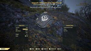 Fallout 76 (PC) 3🌟🌟🌟 Vanguard Sentinel Armor Set [ENDGAME PVE
