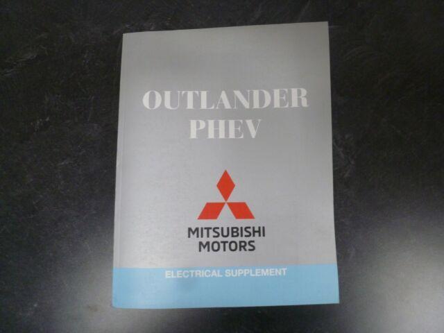 2018 Mitsubishi Outlander Phev Electrical Wiring Diagrams