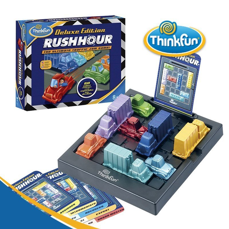 The Ultimate Traffic Jam Game Christmas Toy Kids Gifts ThinkFun Rush Hour Deluxe