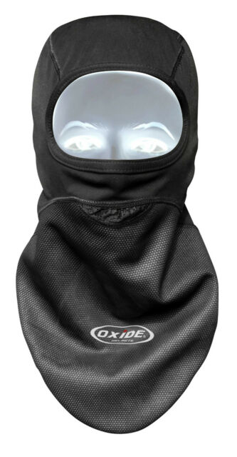 Oxide,Black Windstopper Balaclava For Motorcycle, Motorbike Bike,Thermal Winter